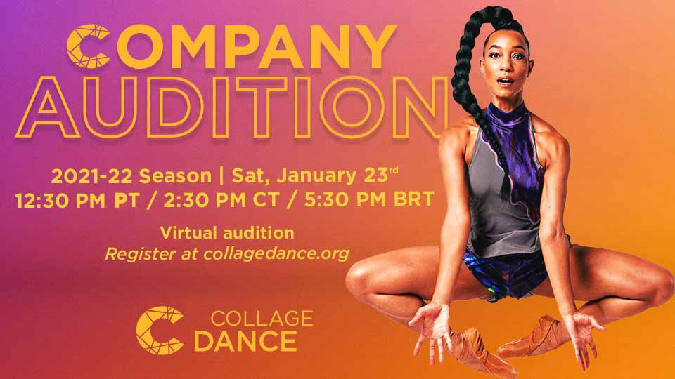 Collage Dance Collective Open Audition – 2020-21 Season