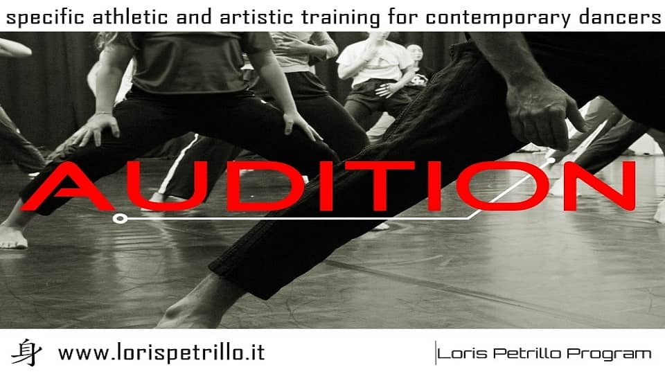 Auditions SPECIFIC Advanced Training Program by Compagnia Petrillo Danza