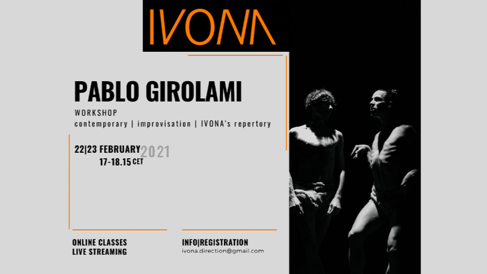 IVONA – Online Workshop with PABLO GIROLAMI