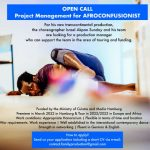 Project Management for Dance Production