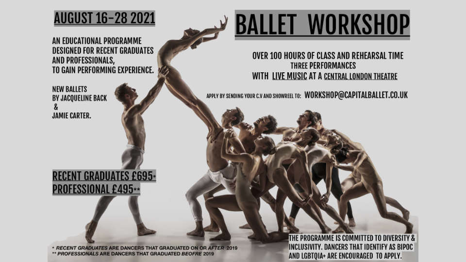 Ballet Workshop With Capital Ballet Company