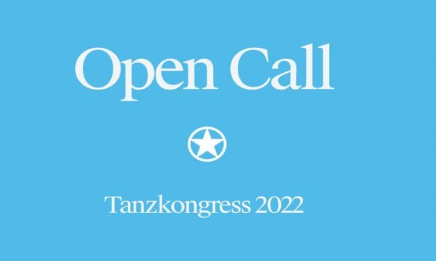 Call for Proposals – Tanzkongress 2022