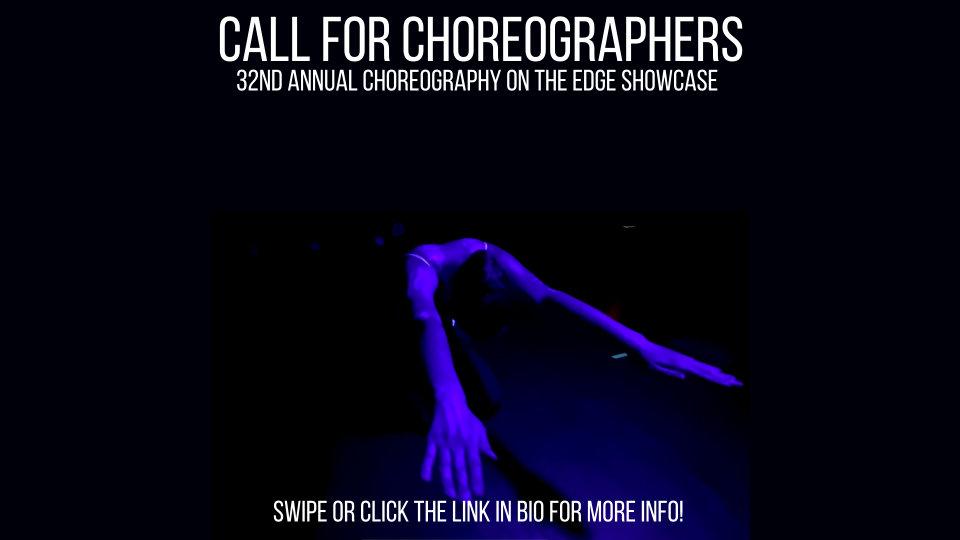 Choreography on the Edge – 32nd Annual Choreographer's Showcase – Woodstock, NY