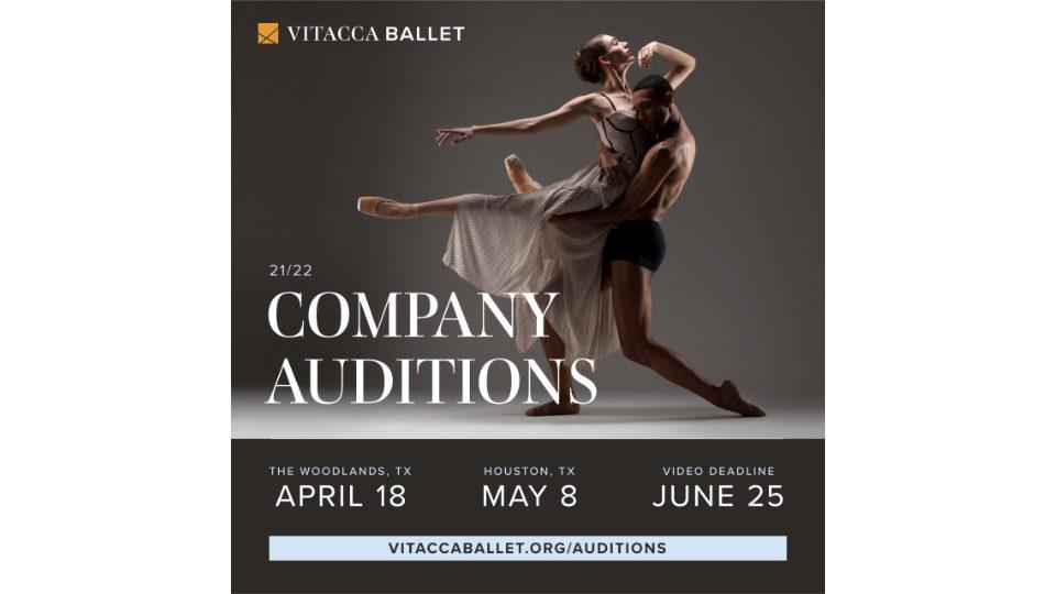 Vitacca Ballet is seeking professional dancers