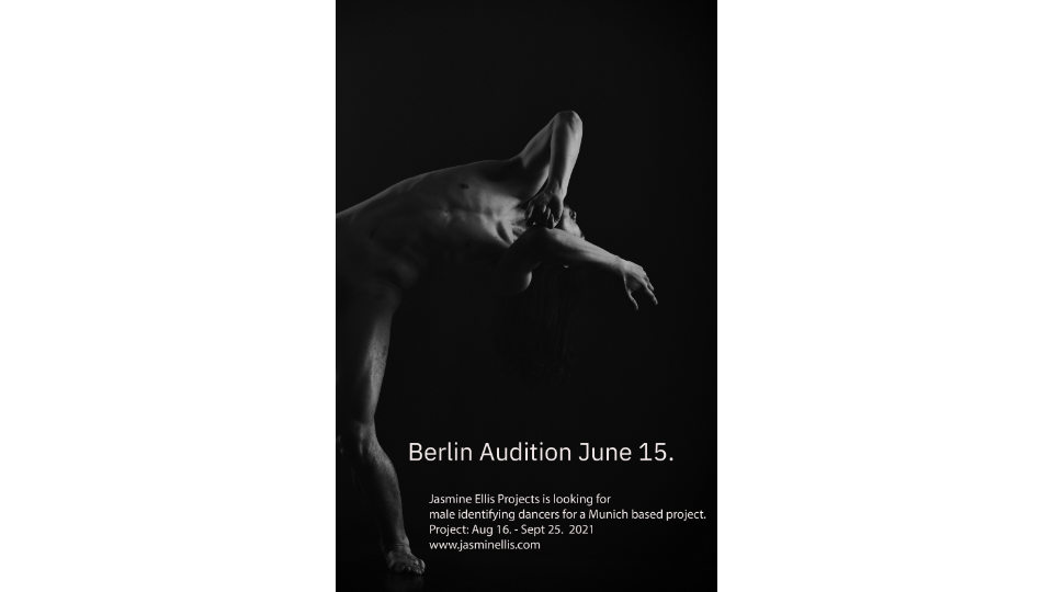 Berlin Audition For Male Identifying Dancers For A Munich Based Project