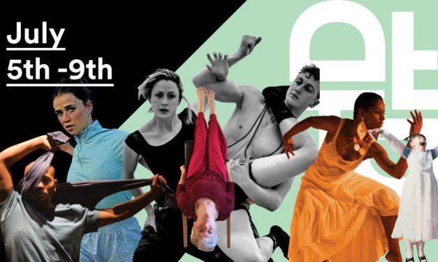 Dancer from the Dance Festival of Irish Choreography