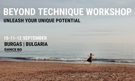 Beyond Technique Workshop Bulgaria 2021