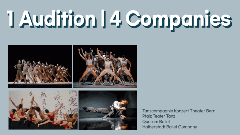 Open Audition For 4 Contemporary Companies (Virtual)