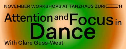 Tanzhaus Zürich Workshops